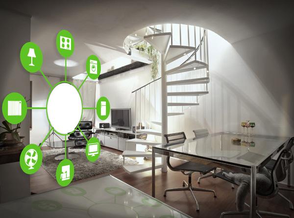 Casa domótica inteligente