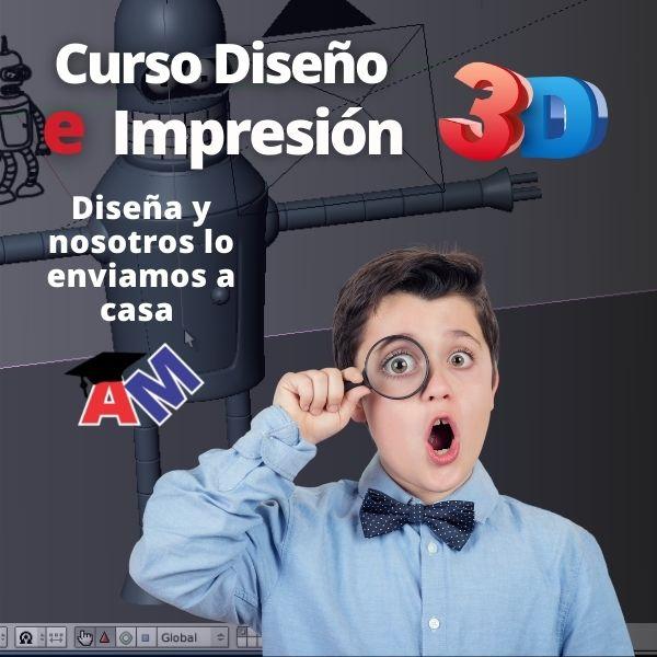 Curso de Diseño e Impresión 3D